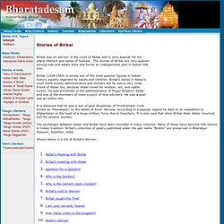 Stories of Birbal - Birbal Stories, Story Books, Stories for Kids, Indian Stories, Indian literature
