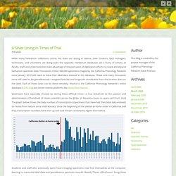 The ReCAP: Stories from California Herbaria