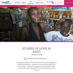 Stories of Hope in Haiti —Concern Worldwide