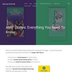 AMP Stories: Everything You Need To Know (Complete Guide)