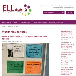 Stories from the Field – ELLstudents