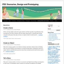 iTEC Scenarios, Design and Prototyping