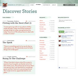 Stories : Share a Story