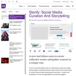 Storify: Social Media Curation And Storytelling