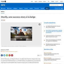 Storify, une success story à la belge