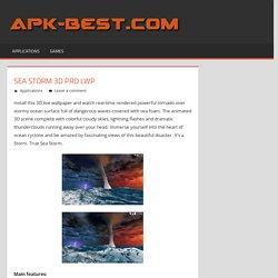 Sea Storm 3D Pro LWP APK Free Download - APK Games Apps Cracked