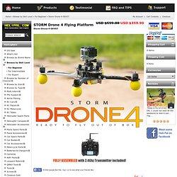 STORM Drone FF Flying Platform (RTF) - HeliPal - Caffeine Security Secured