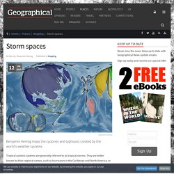 Storm spaces: Topological map