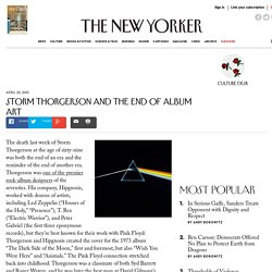 Storm Thorgerson and the End of Album Art