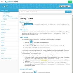 Stormboard - Help