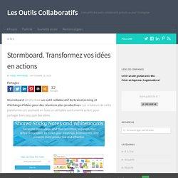 Stormboard. Transformez vos idées en actions