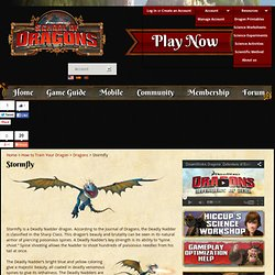 Stormfly – How to Train Your Dragon