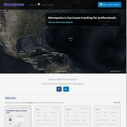 Stormpulse / Hurricanes, severe weather, tracking, mapping