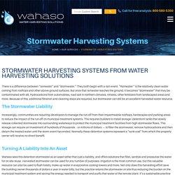 Install Stormwater Harvesting System