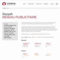 STORPUB / RESEAU PUBLICITAIRE