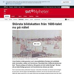 Största bildskatten från 1600-talet nu på nätet