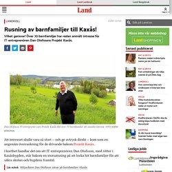 Stort intresse för Projekt Kaxås