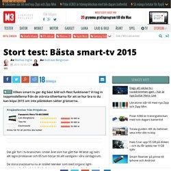 Stort test: B sta smart-tv 2015
