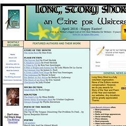 Long Story Short, an ezine for the advancement of writers