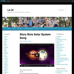 Story Bots Solar System Song