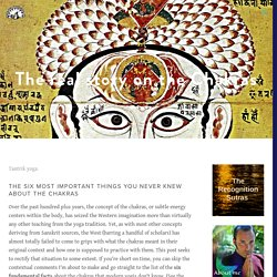 The real story on the Chakras — Tantrik Studies