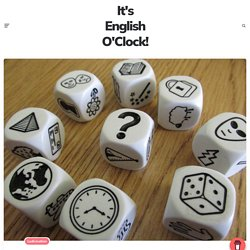 Story Cubes (Genially) – It's English O'Clock !