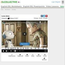 Love story - English ESL video lesson