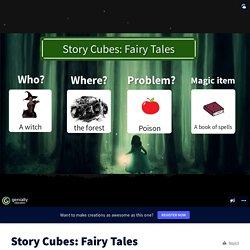 Story Cubes: Fairy Tales by estebanito73 on Genially