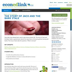The Story of Jack and the Bank Stalk