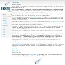 story - Lighttpd - fly light
