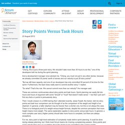 Story Points Versus Task Hours