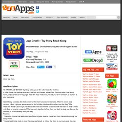 Toy Story Read-Along | Apps | 148Apps