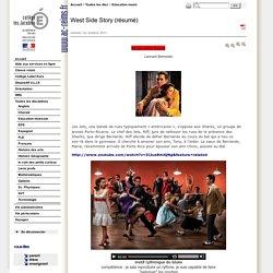 West Side Story (résumé) - CLG PU LES JACOBINS - TROYES