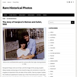 The story of Sarajevo's Romeo and Juliet, 1993