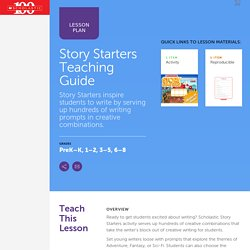 Story Starters Teaching Guide
