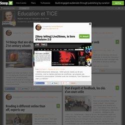 [Story telling] Live2times, le livre d'histoire 2.0