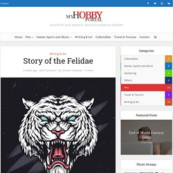 Story of the Felidae - My Hobby Portal