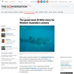 The good-news El Niño story for Western Australia's oceans