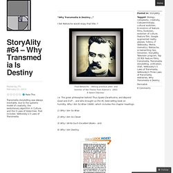 StoryAlity #64 – Why Transmedia Is Destiny