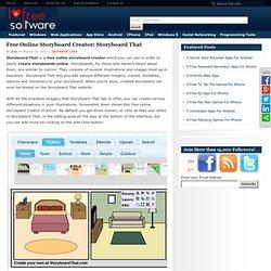 I Love Free SoftwareFree Online Storyboard Creator: Storyboard That
