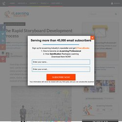 The Rapid Storyboard Development Process
