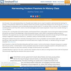 Storyboard Minecraft - Harnessing Student Passions in History Class