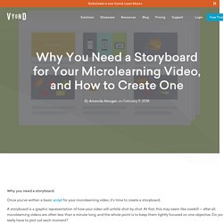 Why You Need a Storyboard for Your Microlearning Video, and How to Create One