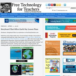 Storyboard That Offers Earth Day Lesson Plans