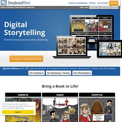 Welcome to Storyboard That – The FREE online storyboard creator for schools and businesses.