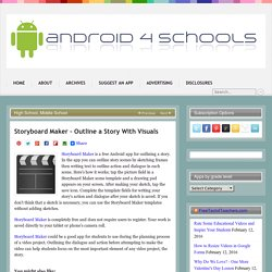 Storyboard Maker – Outline a Story With Visuals