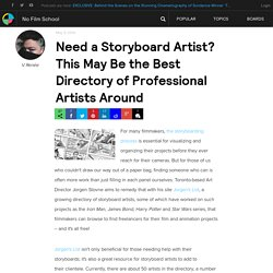 Need a Storyboard Artist? This May Be the Best Directory of Professional Artists Around