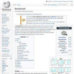 Storyboard - Wikipedia