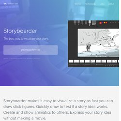 Storyboarder - The best and easiest way to storyboard.