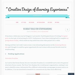 """Creative Design of Learning Experiences"""
